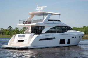 68' Princess 68 Flybridge Motor Yacht 2018 Starboard Stern