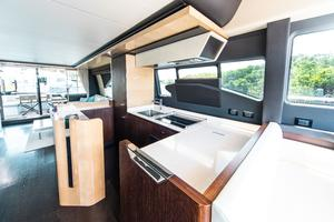 72' Azimut 72 Flybridge - Factory Owned 2016 Galley