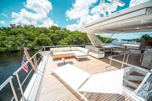 72' Azimut 72 Flybridge - Factory Owned 2016 AftFlybridge