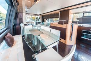 72' Azimut 72 Flybridge - Factory Owned 2016 DinetteGalley