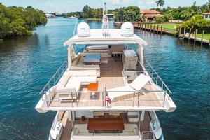 72' Azimut 72 Flybridge - Factory Owned 2016 FlybridgeAft