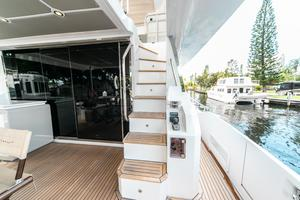 72' Azimut 72 Flybridge - Factory Owned 2016 FlybridgeSteps
