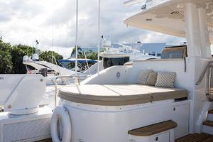 112' Westport Motoryacht 2010 Boat Deck/Hot Tub