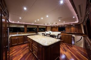 112' Westport Motoryacht 2010 Galley