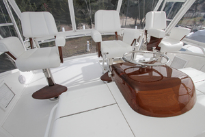 60' Viking 60 Convertible  2011 Helm Station