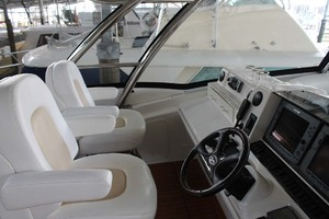 58' Sea Ray 58 Sedan Bridge 2008 Helm Seating