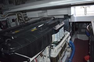 57' Spencer Sportfish 2013 Engine Room