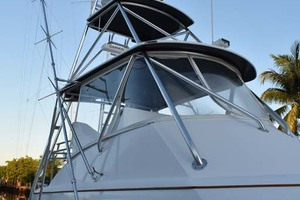57' Spencer Sportfish 2013 Stbd View of Tower