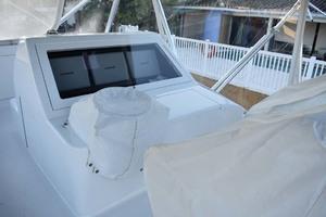 57' Spencer Sportfish 2013 Flybridge Helm Covered