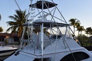 57' Spencer Sportfish 2013 Full View of Tuna Tower