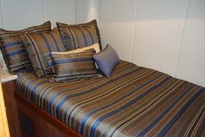 57' Spencer Sportfish 2013 Port Guest Stateroom w/Lg. Double Berth & 2 Storag