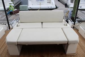 50' Azimut 50 Atlantis 2015 Cockpit Sunlounge