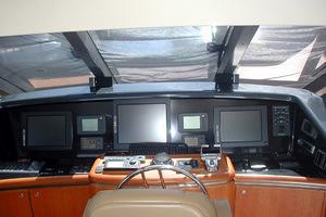 87' West Bay Custom Enclosed Bridge 2005 Electronics
