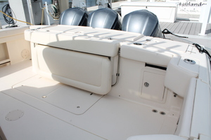 Fiddlers Three is a Grady-White 376 Canyon Yacht For Sale in Fort Myers-Cockpit-14