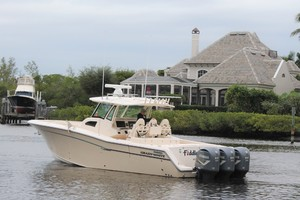 Fiddlers Three is a Grady-White 376 Canyon Yacht For Sale in Fort Myers--35