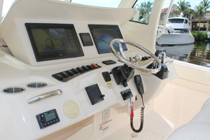 Fiddlers Three is a Grady-White 376 Canyon Yacht For Sale in Fort Myers-Helm-8
