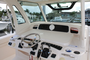 Fiddlers Three is a Grady-White 376 Canyon Yacht For Sale in Fort Myers-Helm-6