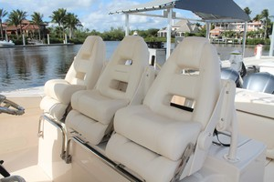 Fiddlers Three is a Grady-White 376 Canyon Yacht For Sale in Fort Myers-Helm Seats-13