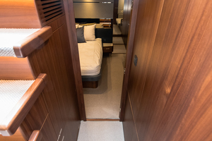 66' Offshore Yachts 66/72 Pilothouse 2020 Stairs to Staterooms