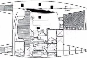 50' Custom Simpson Slipstream 15 1998 Layout
