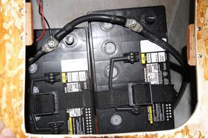 Tartan 372  House Batteries