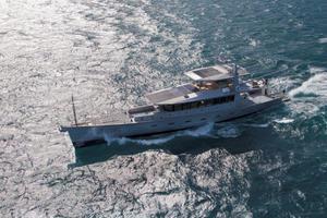 111' Circa Marine Fpb97 2014 AerialShot