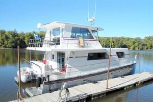50' Custom Artisanal Power Catamaran 2014 ProfileAtDock