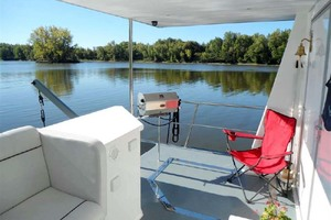 50' Custom Artisanal Power Catamaran 2014 Aft