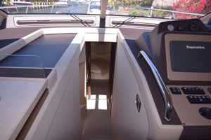 55' Hylas Rs 1999 View Into Staircase To Cabins