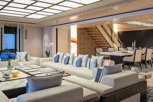 Maindeck Aft Interior Lounge