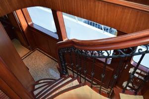 95' Cheoy Lee Bravo Series 2006 Stairs to Foyer