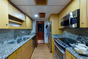 95' Cheoy Lee Bravo Series 2006 Galley