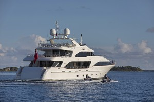 BELIEVE is a Benetti Classic 120 Yacht For Sale in St. Petersburg--1