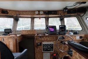 46' Custom Bram Mfg/fh Marine 1989 Forward View