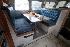 46' Custom Bram Mfg/fh Marine 1989 Settee, Dinette