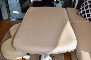 61' Sea Ray Sundancer 610 2012 UpperSalonSeatingWithTableCover