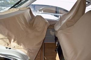 61' Sea Ray Sundancer 610 2012 HelmSeatingAndElectronicsCovered