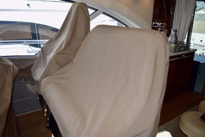 61' Sea Ray Sundancer 610 2012 HelmSeatingWithCovers