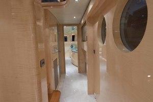 103' Johnson Raised Pilothouse 2008 Starboard Side Main Deck Companionway