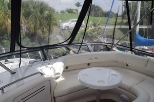 48' Sea Ray 480 Sedan Bridge 2003 FlybridgeForwardSeatingWithTable