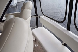 48' Sea Ray 480 Sedan Bridge 2003 SeatingBehindHelmChairs