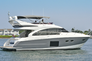 52' Princess 52 Flybridge  2016 StarboardSide
