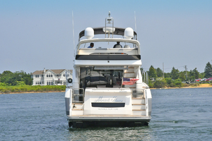 52' Princess 52 Flybridge  2016 Transom