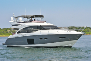 52' Princess 52 Flybridge  2016 StarboardBow