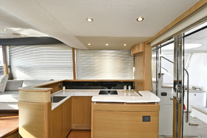 52' Princess 52 Flybridge  2016 Galley