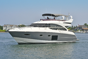 52' Princess 52 Flybridge  2016 PortSideBow
