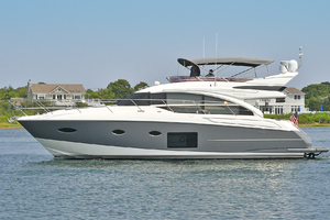52' Princess 52 Flybridge  2016 PortSide