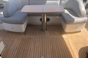 52' Princess 52 Flybridge  2016 Cockpit