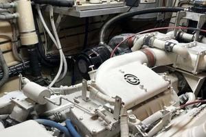 53' Hatteras Motor Yacht Classic 1984 EngineRoom