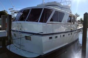 53' Hatteras Motor Yacht Classic 1984 PortAft